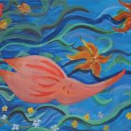 EDC Student Paintings 2009 33
