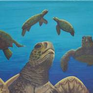EDC Student Paintings 2009 54